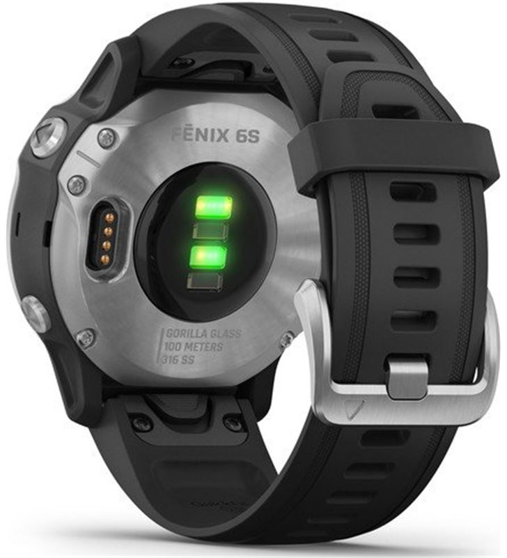 Garmin FÉNIX 6S PLATA negro con correa negra 42mm smartwatch premium multid - 74333080_8577861961