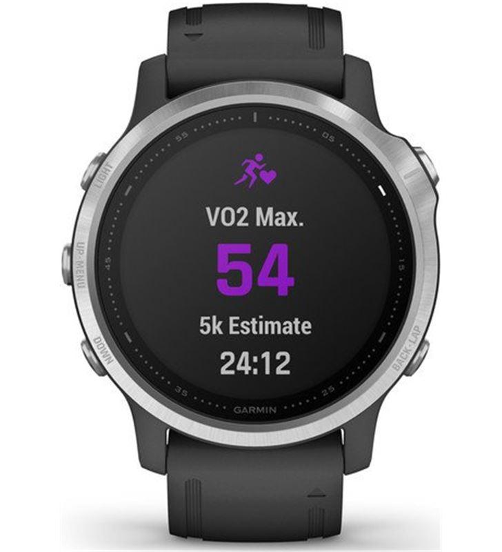 Garmin FÉNIX 6S PLATA negro con correa negra 42mm smartwatch premium multid - 74333080_9962088568