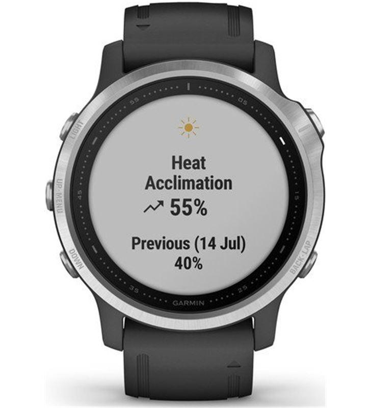 Garmin FÉNIX 6S PLATA negro con correa negra 42mm smartwatch premium multid - 74333080_6900343499
