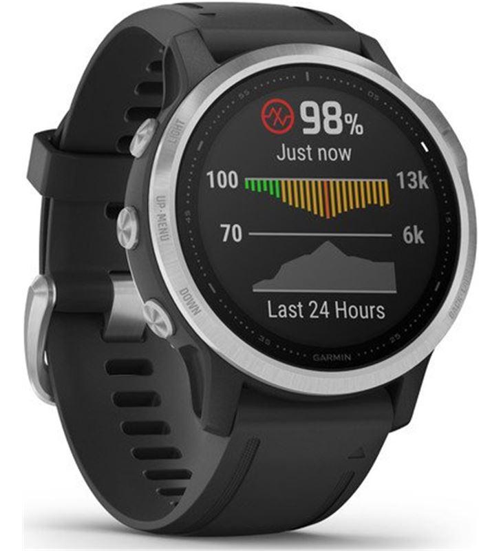 Garmin FÉNIX 6S PLATA negro con correa negra 42mm smartwatch premium multid - 74333080_4720009509