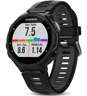 Garmin FORERUNNER 735Xt negro/gris reloj multideporte gps glonass monitor d - +98032