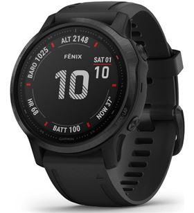 Garmin FÉNIX 6S PRO NEgro con correa negra 42mm smartwatch premium multidep - +21229