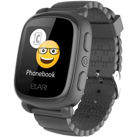 Sihogar.com elari kidphone 2 negro reloj inteligente smartwatch para niños con localiza kidphone2 negro - +20125