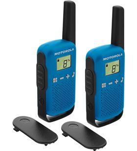 Motorola talkabout t42 azul walkie talkies 4km 16 canales pantalla lcd PMR-T42 AZUL - +95921