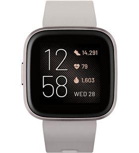 Fitbit FB507GYSR VERSA 2 piedraire acondicionado luminio smartwatch reloj de salud y forma - +21310