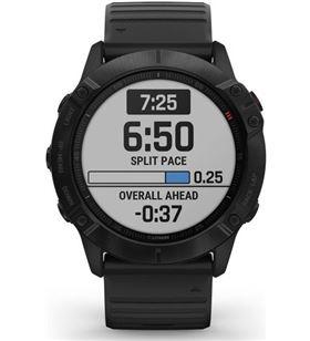 Garmin FÉNIX 6X PRO NE gro con correa negra 51mm smartwatch premium multidep - +21323