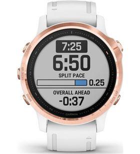 Garmin fénix 6s pro oro rosa con correa blanca 42mm smartwatch premium mult FÉNIX 6S PRO RO - +21325