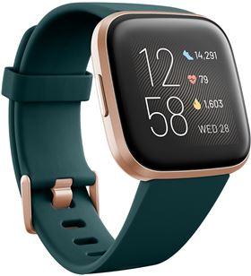 Fitbit FB507RGPE VERSA 2 esmeralda/aluminio smartwatch reloj de salud y for - +21311