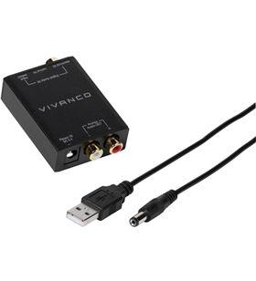 Conversor audio digital - audio analógico Vivanco 46143 - VIV46143