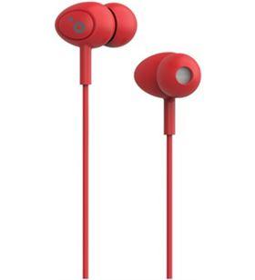 Auriculares boton Sunstech pops microfono rojo POPSRD - POPSRD