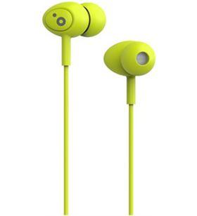 Auriculares boton Sunstech pops microfono verde POPSGN - POPSGN