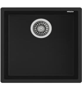 Teka 115230025 fregadero square 40x40 tg negro Fregaderos - TEK115230025