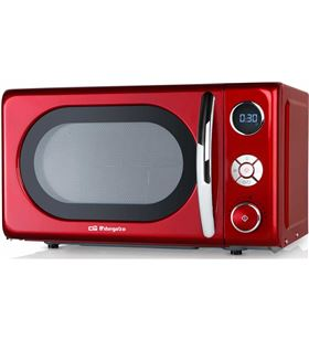 Orbegozo mig2042 microondas de 700w digital con grill de 20 litros de capac MIG2042 ROJO - +015220