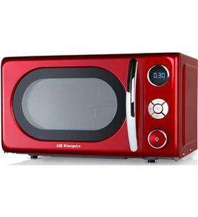 Orbegozo MIG2042 ROJO mig2042 microondas de 700w digital con grill de 20 litros de capac - +015220