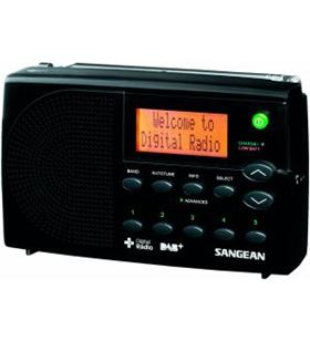 Sangean dpr-65 negro radio digital portátil fm con rds y dab+ pantalla lcd DPR-65 BLACK - 4711317992204