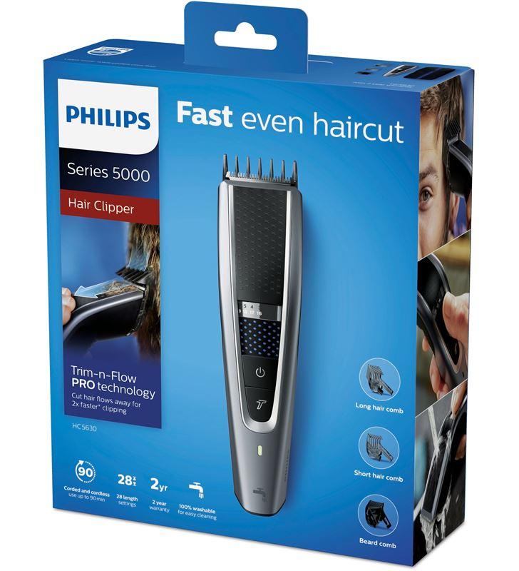 Philips HC5630/15 gris cortapelos lavable hairclipper series 5000 - 69909966_7701736446