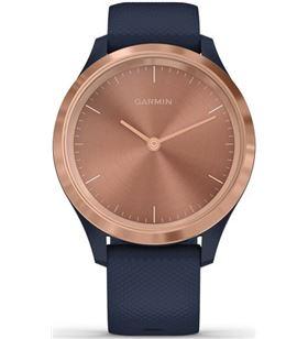 Garmin vivomove 3s oro rosa navy silicona reloj inteligente 39mm híbrido co VIVOMOVE 3S ROS - +21471