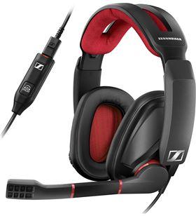 Sennheiser GSP 350 NEGRO/Rojo auriculares para gaming 7.1 con micrófono - +96713