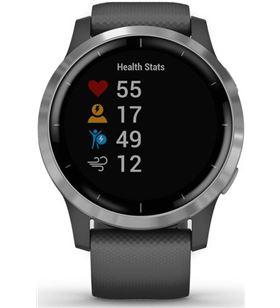 Reloj deportivo Garmin vivoactive 4 gps gris/plata 010_02174_02 - GAR010_02174_02