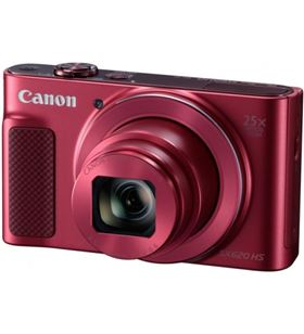 Canon powershot sx620hs rojo kit cámara compacta 20.2mp full hd KIT PWS SX620HS - 8714574643380