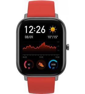 Xiaomi amazfit gts naranja vermillon lava smartwatch 1.65'' amoled gps AMAZFIT GTS VER - +21578
