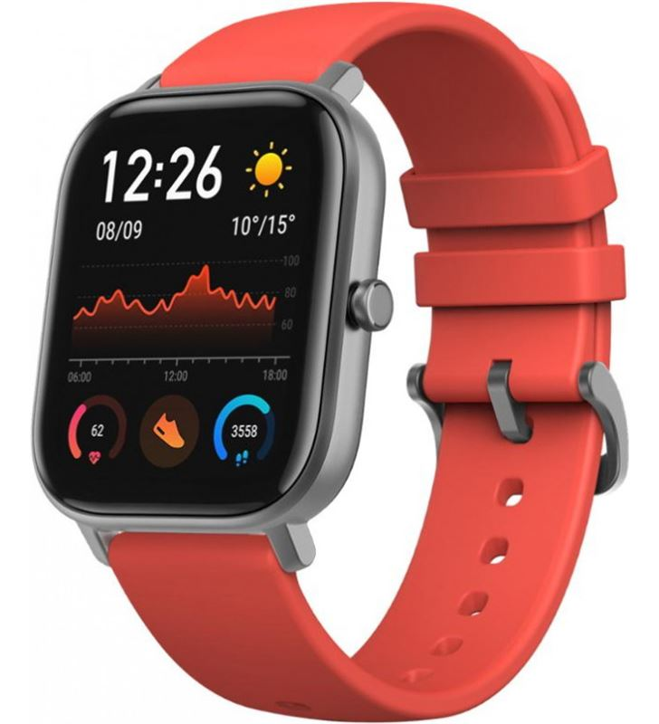 Xiaomi amazfit gts naranja vermillon lava smartwatch 1.65'' amoled gps AMAZFIT GTS VER - 75709012_0161488658