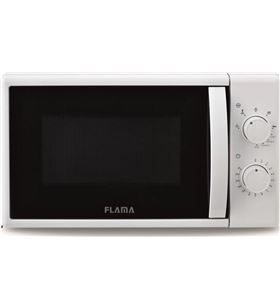 Sihogar.com microondas con grill flama 1884fl blanco - 700w / grill 1000w - 20l - 5 pro - FLA-PAE-MIC 1884FL