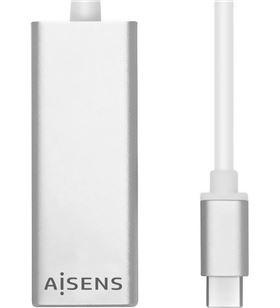 Sihogar.com adaptador usb 3.1 tipo-c a lan aisens a109-0341 - ethernet 10/100/1000 mbps - AIS-ADP A109-0341