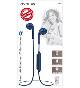 Auriculares bluetooth Vivanco smart air cosmic blue 38910 - bt 4.1 - 20-20. - 57863026_5656145628