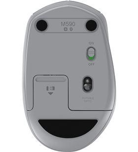 Logitech 910-005198 ratón inalámbrico silencioso m590 gris medio - 2.4ghz - bt smart - - LOG-MOU 910-005198
