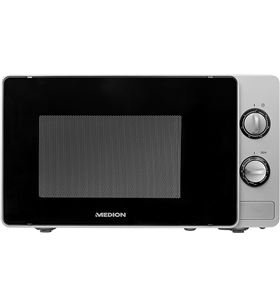 Microondas con grill Medion md 18691 silver - 700w (grill 800w) - 20 litros 50060631 - MED-PAE-MIC 50060631