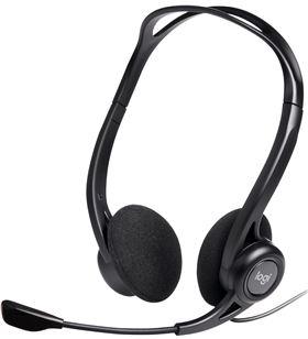 Auriculares diadema con microfono Logitech headset pc 960 usb control volum 981-000100 - LOG-O 981-000100