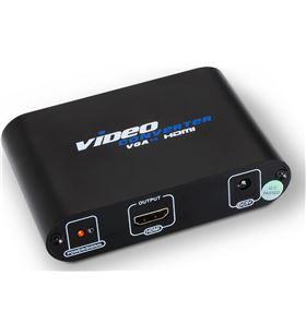 Adaptador svga+ audio a hdmi Aisens A115-0083 - conectores hdmi hembra/ con - AIS-ADP A115-0083