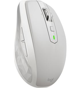 Logitech 910-005155 ratón inalámbrico mx anywhere 2s gris claro - 4000dpi - sensor dar - LOG-MOU 910-005155