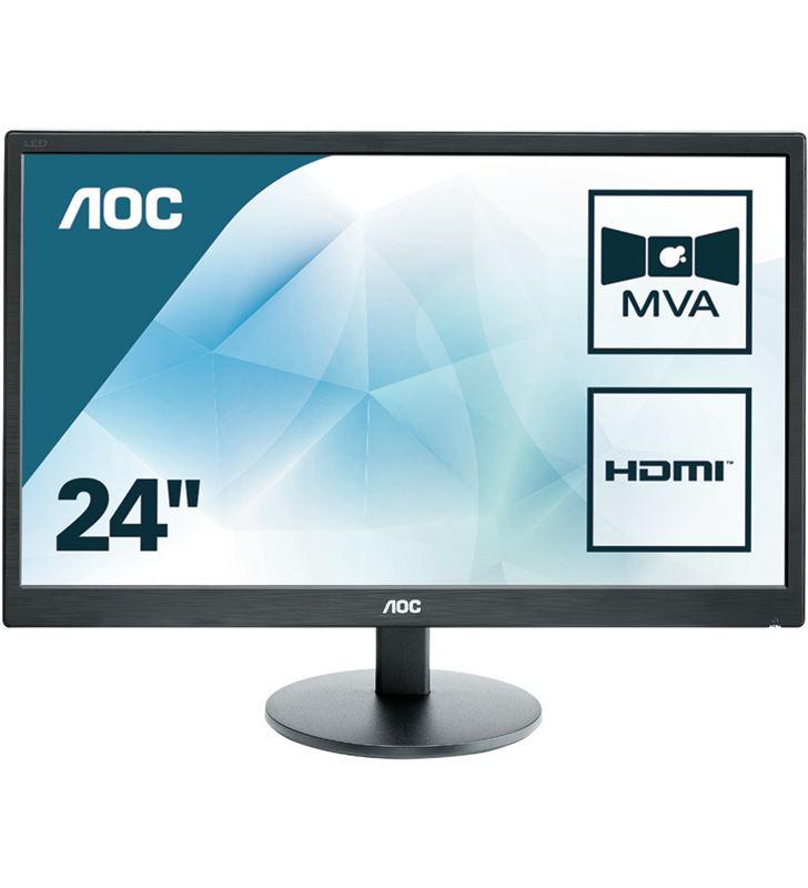 Aoc M2470SWH monitor led multimedia - 23.6''/59.9cm - mva - 1920x1080 full h - 24876880_9156365579