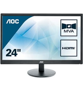 Monitor led multimedia Aoc M2470SWH - 23.6''/59.9cm - mva - 1920x1080 full h - AOC-M M2470SWH