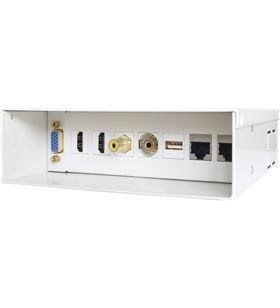 Sihogar.com caja de conexiones multimedia aisens a127-0340 - vga - 2*hdmi - jack3.5 - r - AIS-CAJA A127-0340