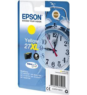 Cartucho amarillo Epson 27xl durabrite - 10.4ml - despertador C13T27144012 - EPS-C13T27144012