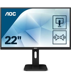 Aoc 22P1D monitor led multimedia - 21.5''/54.6cm - 1920*1080 full hd - 16:9 - AOC-M 22P1D