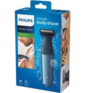 Afeitadora corporal Philips bodygroom series 3000 BG3015/15 - 3*peine guía - PHPAE-AFE BG3015