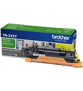 Toner amarillo Brother TN243Y - 1000 páginas - compatible según especificac - BRO-TN-243Y