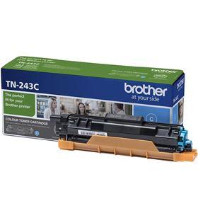 Toner cian Brother TN243C - 1000 páginas - compatible según especificacione - BRO-TN-243C