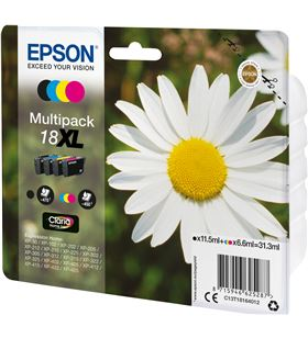 Cartucho tinta Epson t181640 31 ml multipack -18xl margarita C13T18164012 - 33622466_9813069470
