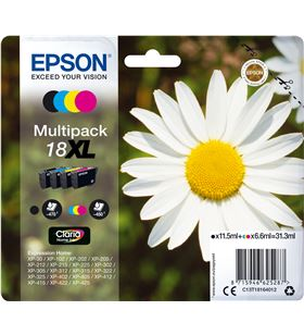 Cartucho tinta Epson t181640 31 ml multipack -18xl margarita C13T18164012 - EPS-C13T18164012