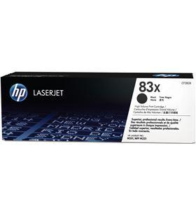 Toner negro Hp nº83x - 2200 páginas - compatible cn laserjet pro m202n/dw / CF283X - CF283X