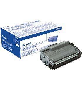 Toner negro Brother tn-3430 - 3000 páginas - compatible según especificacio TN3430 - BRO-TN-3430