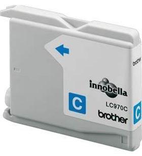 Cartucho tinta Brother lc-970 300 páginas cian LC970C - 4977766649582