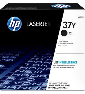 Toner negro Hp CF237Y - nº37y - 41000 páginas - compatible con laserjet ent - CF237Y