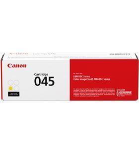 Toner Canon 045 amarillo - 1300 páginas - compatible según especificaciones 1239C002 - CAN-TN 045Y