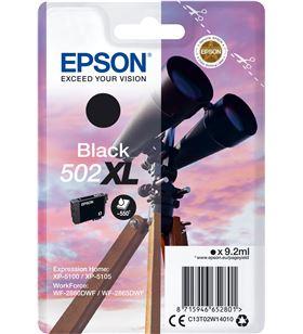 Cartucho tinta Epson 502xl - negro (9.2ml) - binoculares C13T02W14010 - EPS-C13T02W14010